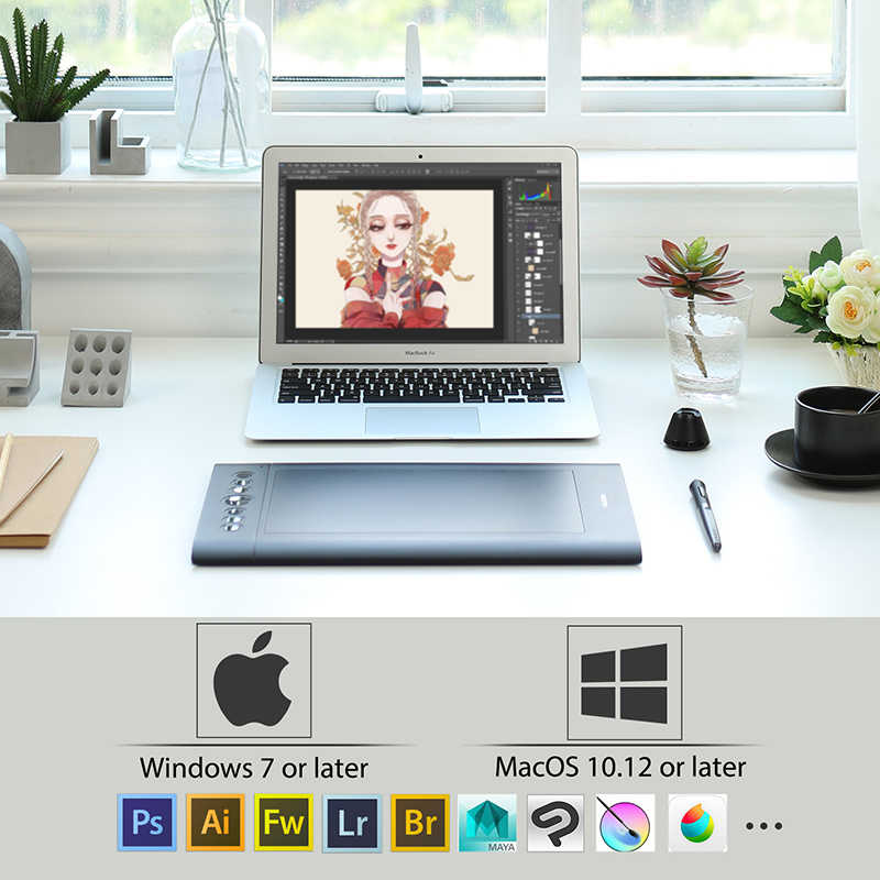 HUION H610 TABLET DRIVERS FOR WINDOWS