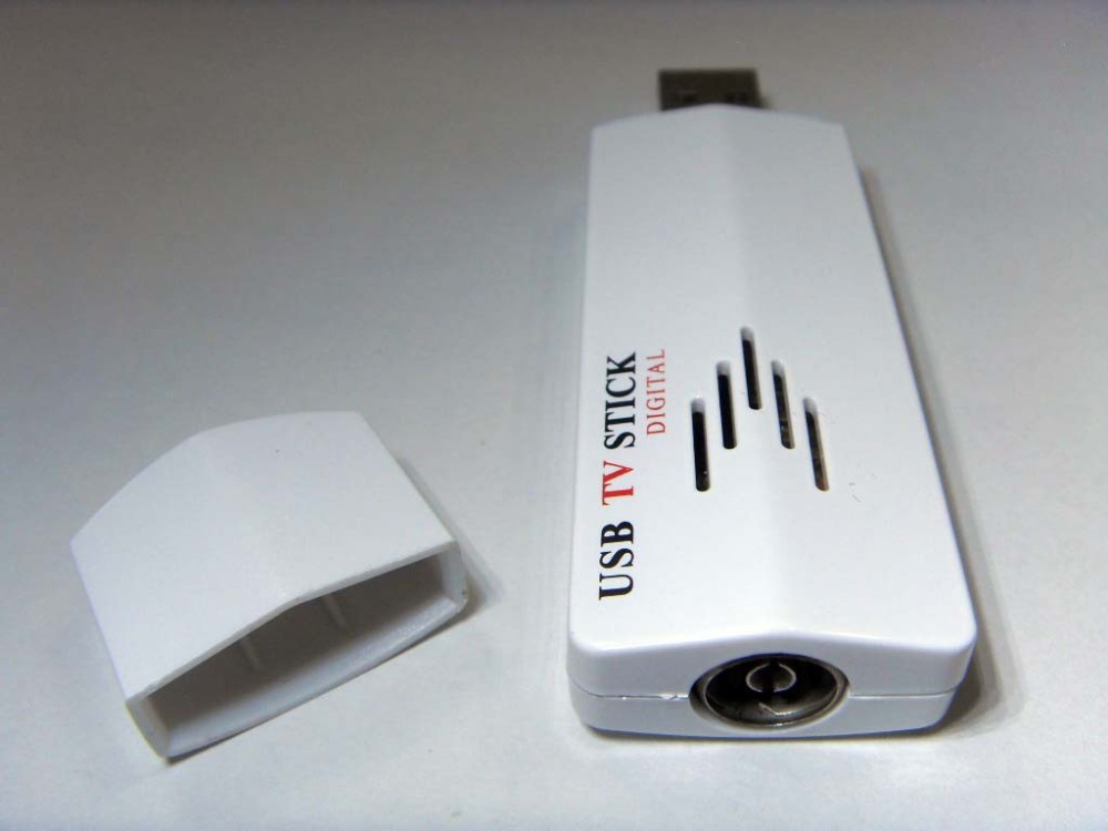 Black mini digital tv stick usb dvb t+dab+fm radio tuner recorder.