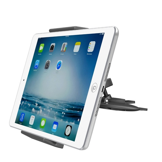 Apps2car universal tablet ranura de cd soporte de coche tablet/phone holder para ipad 2 3 4/air 1 2/mini 1 2 3 4 iphone 6 s 6 5S teléfono android