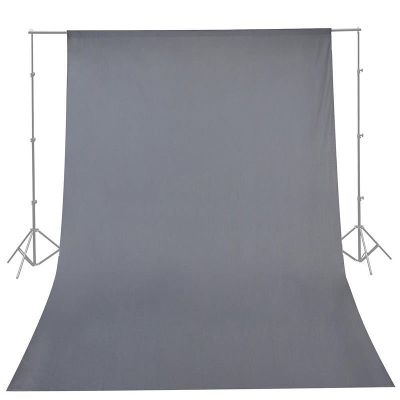 CY High Quality Photography Studio 10ft x 20ft 3mx6m Solid Gray Muslin Backdrop Photo Studio Background Backdrop Hot Selling the new high quality imported green cowboy training cow matador thrilling backdrop of competitive entrance papeles