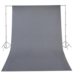 CY High Quality Photography Studio 10ft x 20ft 3mx6m Solid Gray Muslin Backdrop Photo Studio Background Backdrop Hot Selling