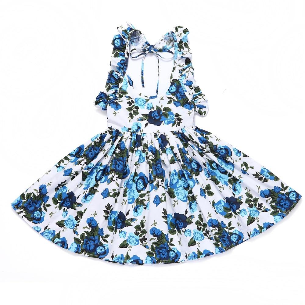 FLOFALLZIQUE Laste kleit, 16 värvivalikut 1