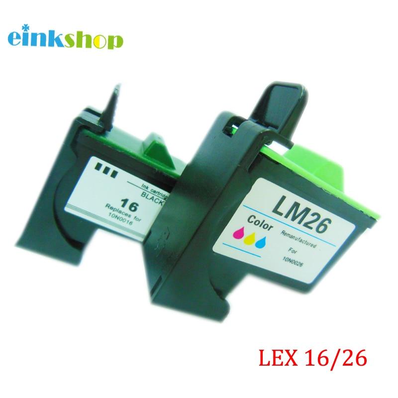 Für Lexmark 16 26 Tintenpatrone für Lexmark Z615 X1100 X1150 X2250 - Büroelektronik - Foto 2