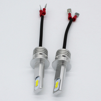 2PCS H1 H3 CSP Chip Canbus Auto Car Headlight Bulb 12V 24V 2000LM DRL Fog Lamp