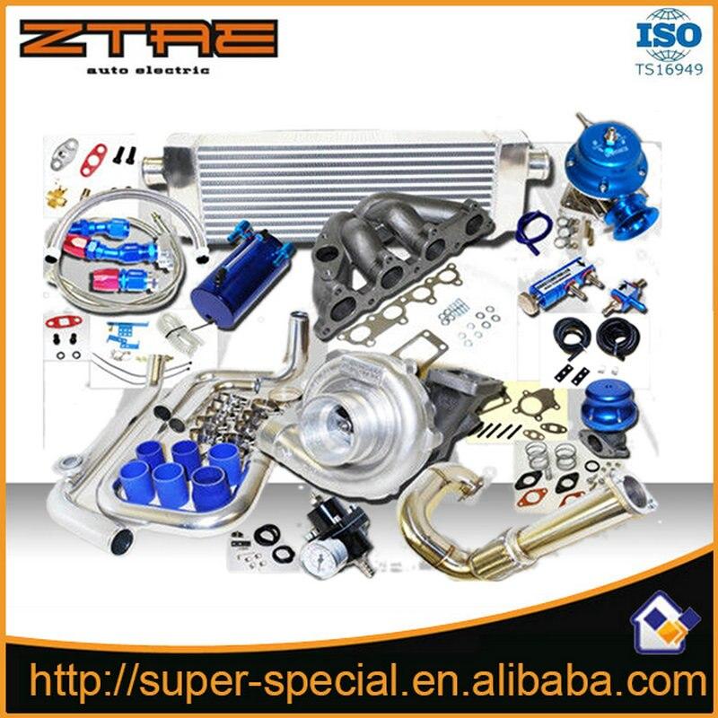 Complète Turbo Kit Pour Honda D D15 D16 Civic 250hp 1992-1994 pour CRX Delsol SACT Haute qualité