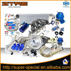 Complete Turbo Kit For Hond@ D D15 D16 Civic 250hp 1992-1994 for CRX Delsol SOHC High quality