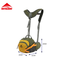 ROYALWAY Fashion Outdoor Sport Cycling Bags Pockets Bag With Detachable Straps High Quality Outdoor Sport Backpack