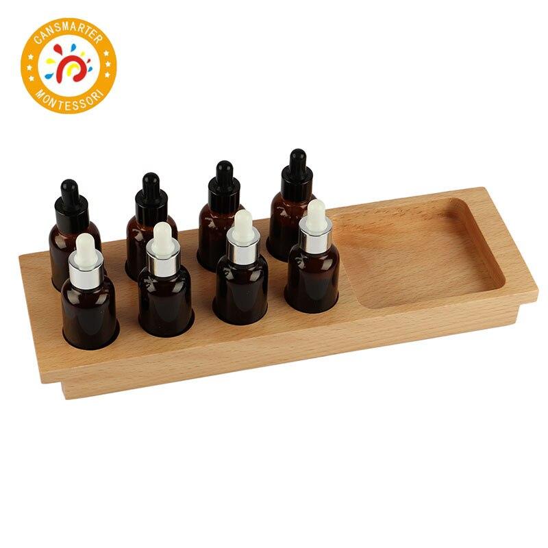 Montessori enfants jouet de haute qualité goût bouteille éducation préscolaire formation