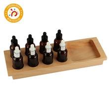 Montessori Kids Toy High-Quality Taste bottle Education Preschool Training