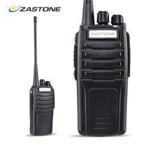 2 шт./лот 10 Вт Zastone ZT-A9 400-480 мГц двухстороннее радио Walkie Talkie двухстороннее радио портативный портативной рации полиции оборудования
