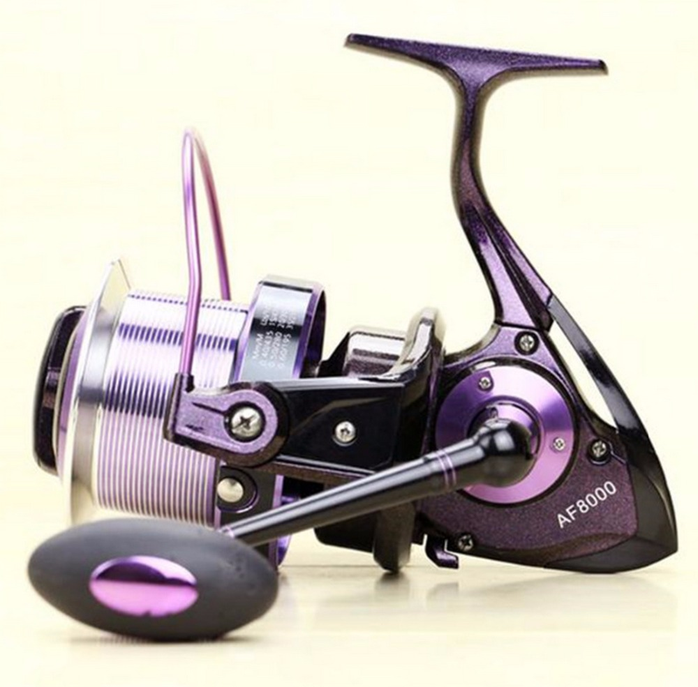 FREE SHIP AF 2016 inshore ICE FLY CARP spinning fishing reel 14 HPCR stainless steel Ball Bearings distant wheel variable colour