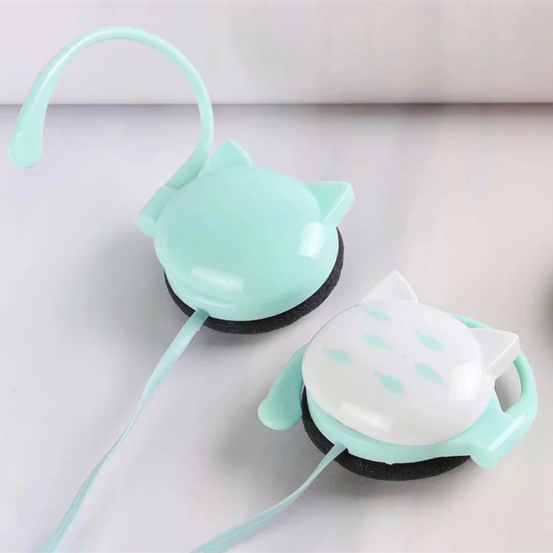 5PCS Parcle Cute Cat Fish Stereo ear hook Earphone Earbuds Headphone with Mic 3 5mm Sports Headset for iphone Xiaomi Mp3 Gifts in Phone Earphones Headphones from Consumer Electronics