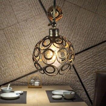 アメリカ国小さなケージレトロインダストリアルスタイルのヴィンテージロフト鉄の壁ランプ用通路バーカフェ照明器具