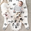 2017 Hot Sale 113*68cm Baby Quilted Play Mats Lion Mat For Children Developing Crawling Blankets Rug Carpet For Kids Toys Gifts
