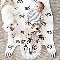 2017 Venta Caliente 113*68 cm Alfombra de Juegos de Bebé Acolchada Alfombra de León para Los Niños En Desarrollo Crawling Mantas Alfombra Alfombra Para Niños Juguetes regalos