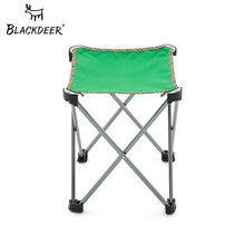 BLACKDEER Outdoor Fishing Chair Portable Folding Picnic Camping Double Oxford Cloth Foldable Fishing Aluminum Alloy Chair(China)