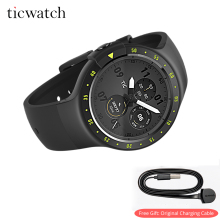 Ticwatch S Bluetooth/WIFI Smart Watch Android Wear GPS Watch Heart Rate IP67 Water Resistant smartwatch Free Gift Charging Cable