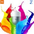 100% Оригинал Xiaomi Mi Yeelight 2 СВЕТОДИОДНЫЕ Лампы Красочный Версия Wi-Fi Пульт Дистанционного Управления Регулируемая Цветовая Температура 16 RGB