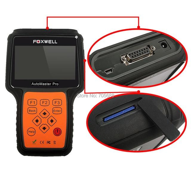 Foxwell NT643 Автомастер Pro FR и ЕГО Сделать Все Системы EPB Службы Масла Сканер Автомобильная Профессиональный Автомобиля Диагностический Инструмент универсальный