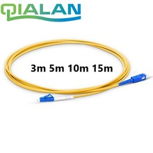 Fiber Optic Patchcord LC UPC to SC 3m 5m 10m 15m Jumper Cable G657A Optical Cord Simplex 2.0mm PVC Connector