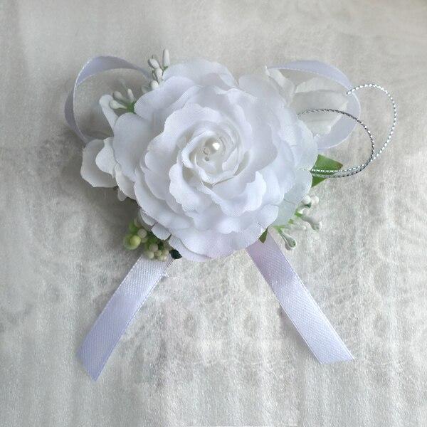 Aliexpress.com : Buy Silk Rose Flower Boutonniere For ...