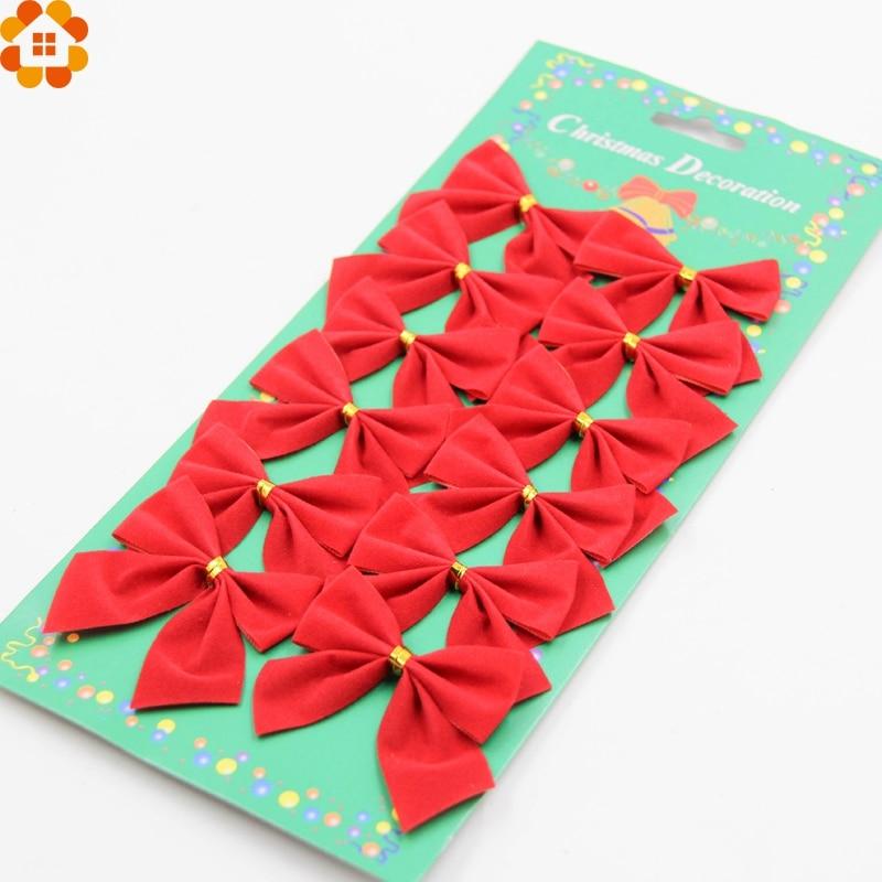 10 UNIDS Arco para la Decoración Del Partido Del Árbol de Navidad Feliz Jardín A