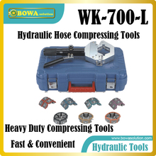 Fast and  convenient hydraulic hose compressing tools for vehicles air conditioner pipe hoses (car, truck and bus)