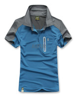 Man T Shirts Breathable And Quick Dry Polo Shirts Outdoor T Shirts Sports Wear AU70017