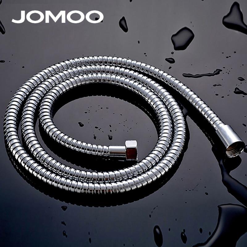 JOMOO Stainless Steel Shower Hose Plumbing Hose PVC Bathroom Accessories Bathroom Shower Hose Tube 1.5m 1.2m G1/2 Watering Can