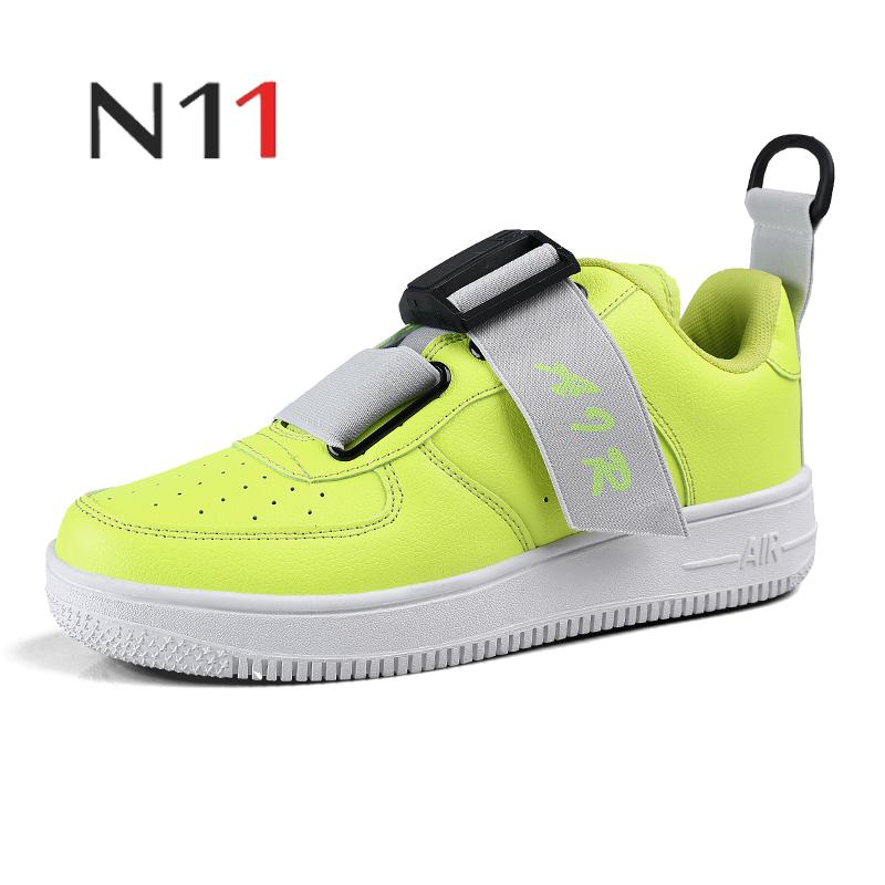 N112019 men and women fashion breathable shoes high quality non slip wear resistant vulcanized shoes casual shoes large size 46