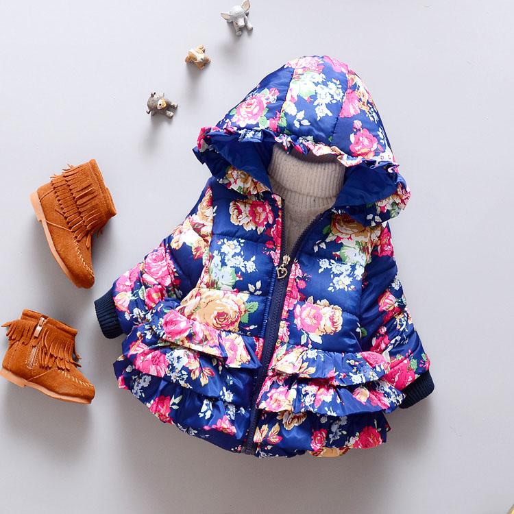 LZH Baby Girls Jacket 19 Autumn Winter Jacket For Girls Coat Kids Warm Hooded Outerwear Coat For Girls Clothes Children Jacket 20