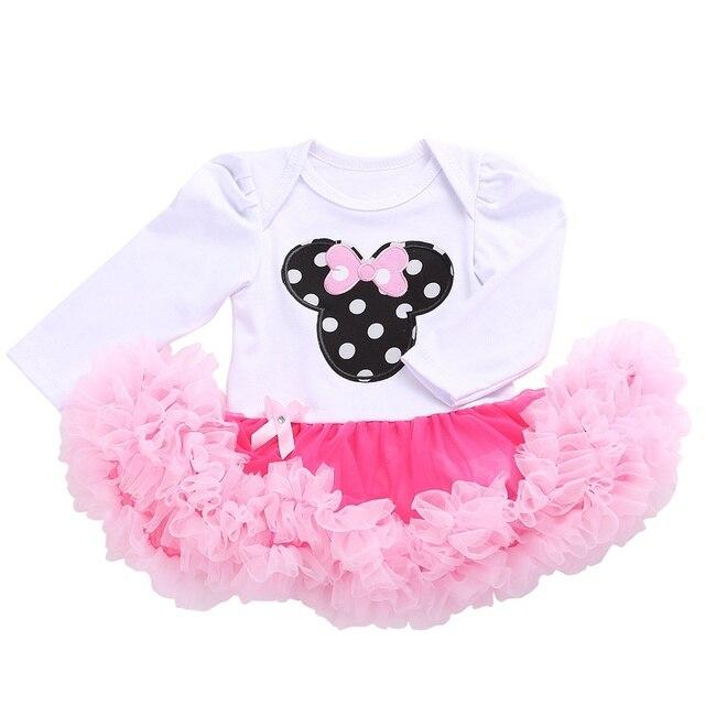 Lindo Vestido de Princesa Del Partido Del Bebé Infantiles Primera ...