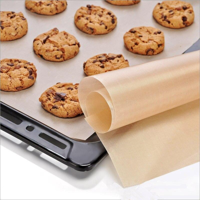 Pad Bake Tray Sheet Baking Mat Kitchen Oven Paper Reusable Cooking Liner