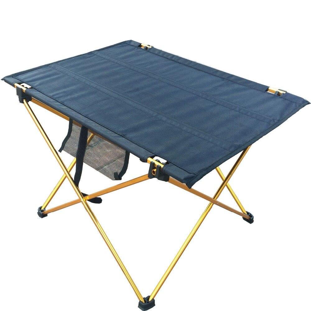 Vanjski stol za kampiranje sa sklopivim stolom od aluminijske legure - Namještaj - Foto 3