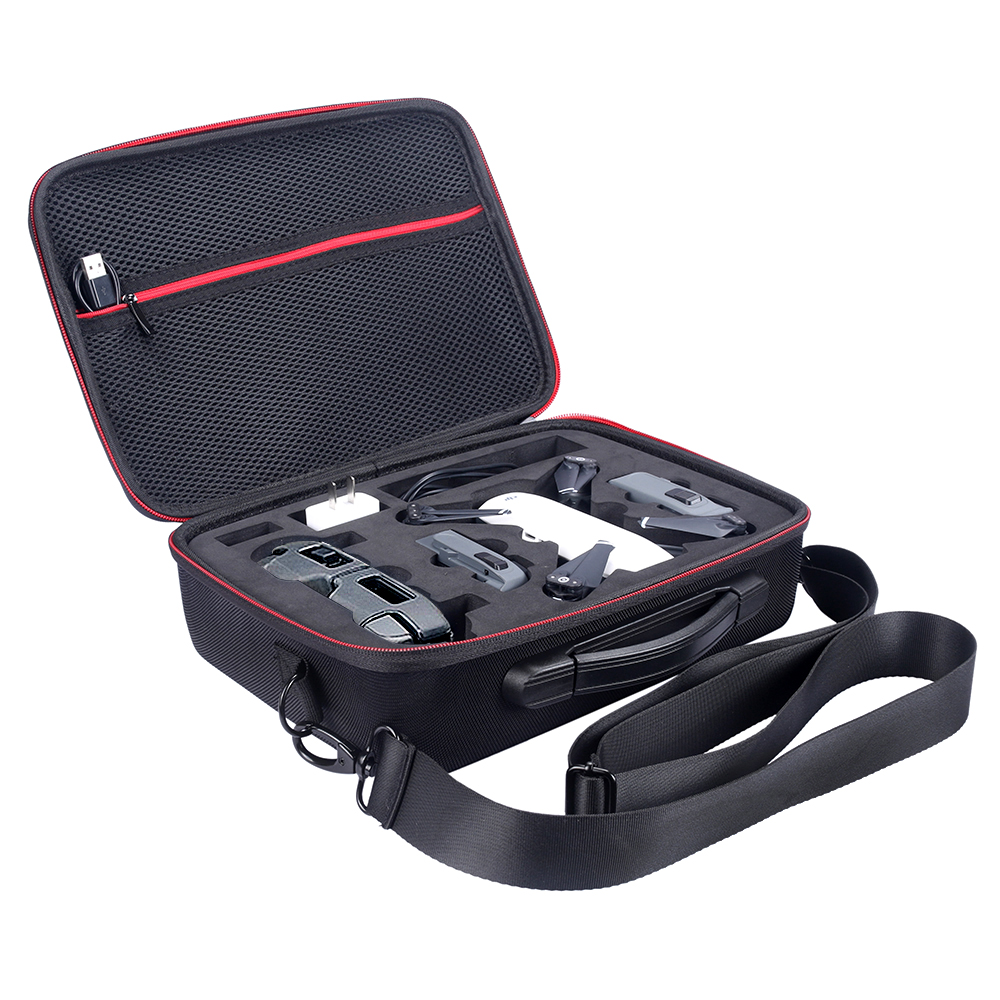 2018 New PU EVA Hard Bag Box for DJI Spark Drone and All Accessories Portable Spark Case Shoulder DJI Storage Carry Drone Bags