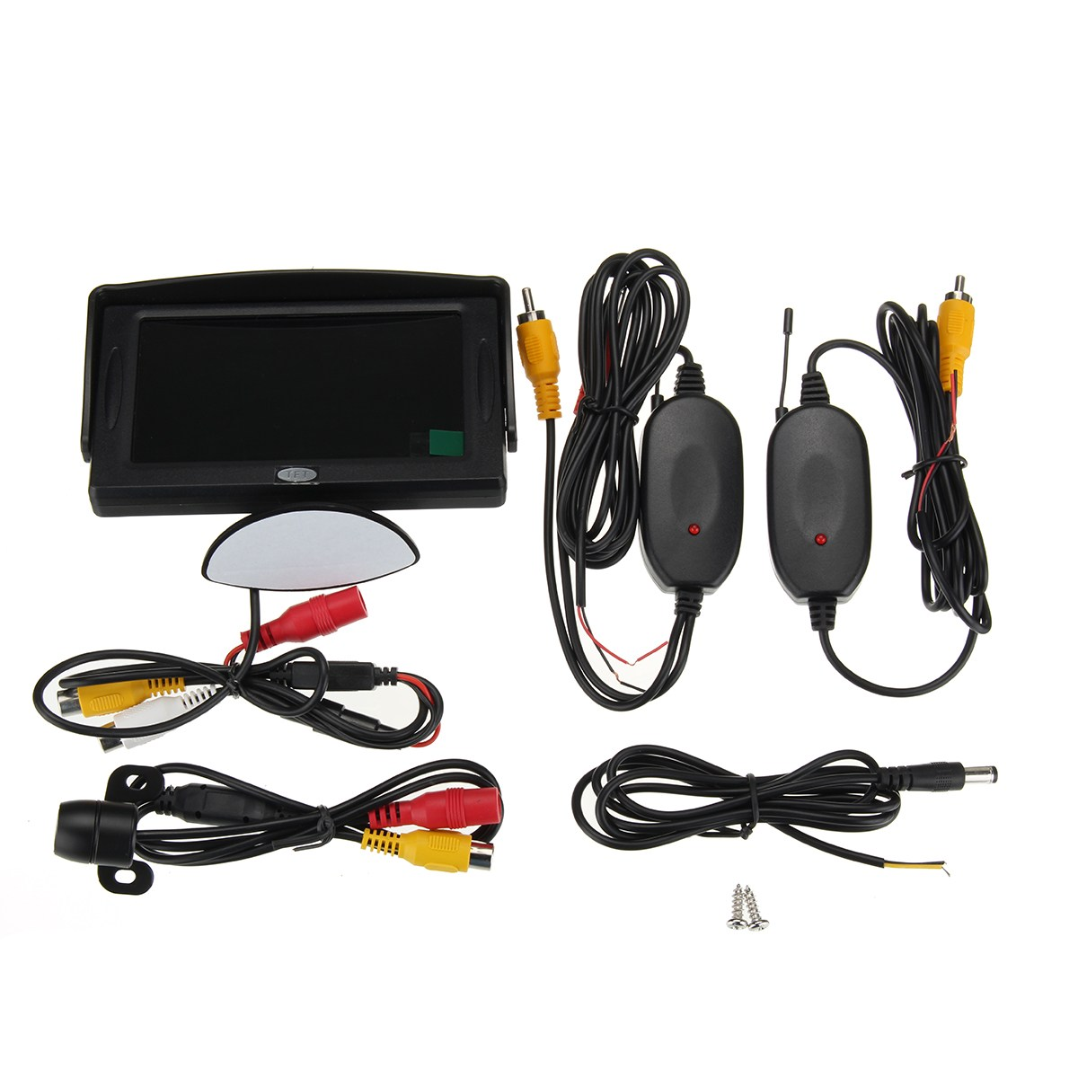 Wireless 120 Degree Car Rear View Backup Reverse Camera 4.3