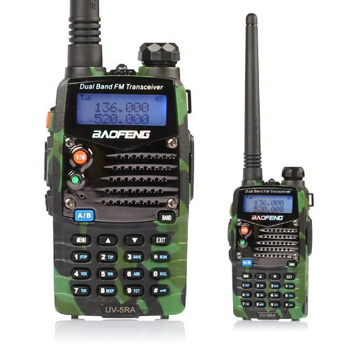 Baofeng walkie Ham Two Way Radio BAOFENG UV 5R 136 174 400 520 Mhz Dual Band