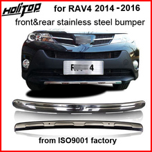 Bull-Bar Bumper-Guard Toyota Rav4 Guarantee-Quality Front for Rear-Skid-Plate Stainless-Steel