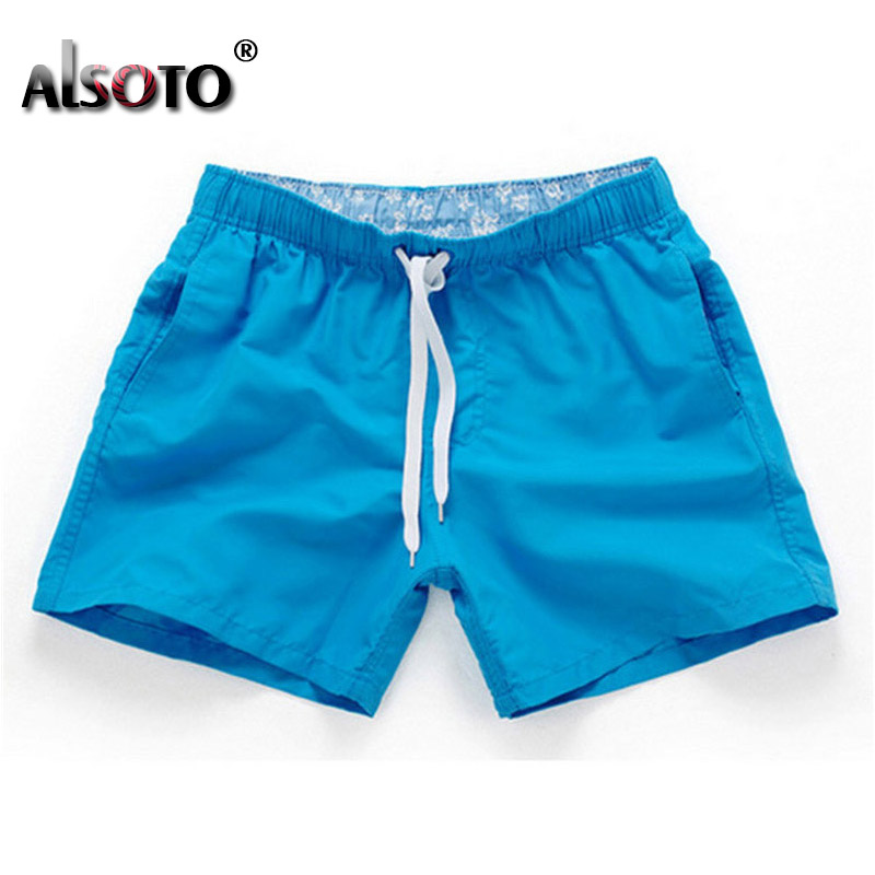 Maiô Praia de Secagem Rápida Troncos Para Homens Swimwear sunga Boxer Briefs zwembroek heren mayo Board shorts de Secagem Rápida Troncos
