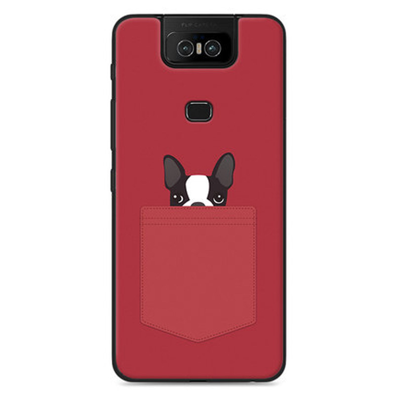 For Asus Zenfone 6 2019 Case Painted Cartoo Cover Full Protection Phone Case For Zenfone 6 ZS630KL 6Z Cover Shockproof Bumper