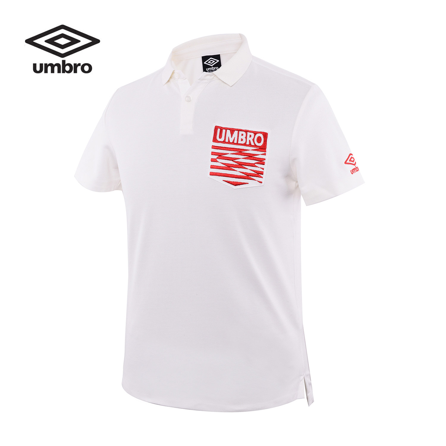 Umbro Men New Short Sleeve Polo Shirt Sports T-shirt Sportswear Tracksuit T-shirt Tee Tops UCC63105