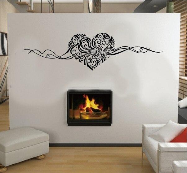 SIZE:150 x 40cm Romantic Heart...