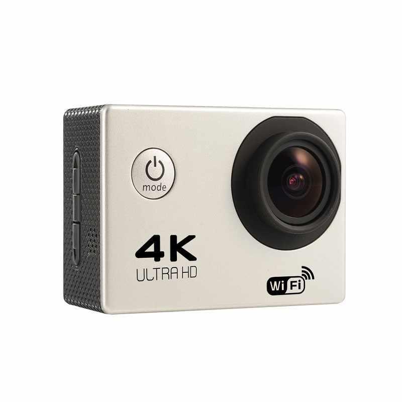 """Экшн-камера F60/F60R Allwinner V3 4 К 30fps 1080 P 60fps Wi-Fi 2.0 """"170D шлем CAM водонепроницаемая спортивные камеры"""