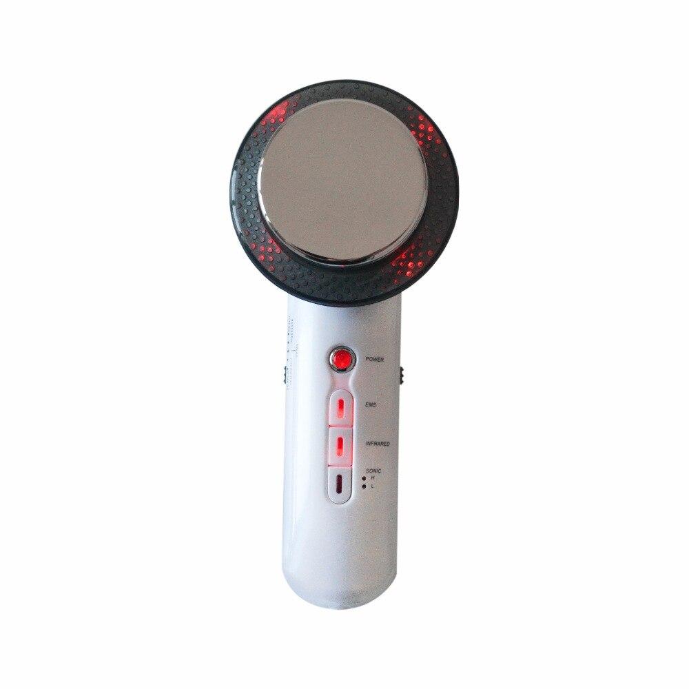 3 в 1 EMS десятки электрода колодки инфракрасное ультразвуковой массажер для похудения для тела антицеллюлитный сжигания жира Вес потери 1 мГ...