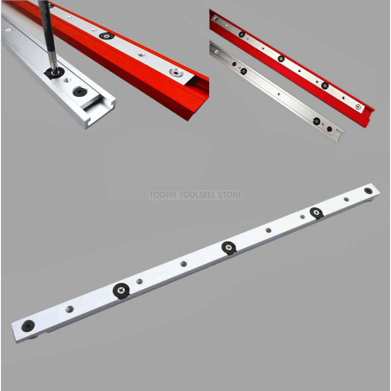 300/450/650mm Aluminium Alloy T-tracks Slot Miter Bar Slider Table Saw Miter Gauge Rod Woodworking Tools DIY