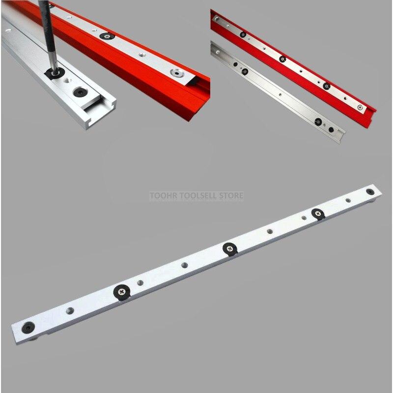 300/450/650mm Aluminium Alloy T-tracks Slot Miter Bar Slider Table Saw Miter Gauge Rod Woodworking Tools DIY