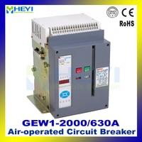ACB GEW1 2000 630A 3 P stationarymode (DW45) пневматический автоматический выключатель AC 380 В 50 Гц