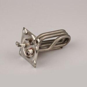 """Image 3 - 2 """"X2""""(67x67mm) Squre capuchon éléments chauffants 3KW 220V pour générateur de vapeur haut entraxe 52x52mm"""