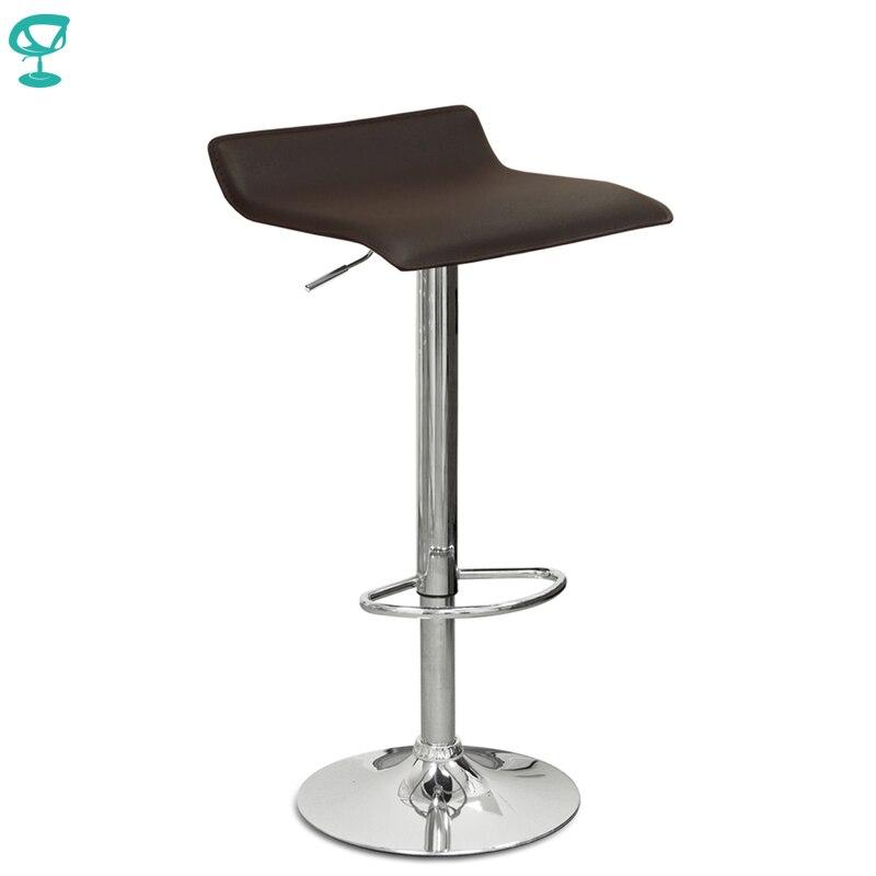 94504 Barneo N-38 en cuir cuisine petit déjeuner tabouret de Bar pivotant chaise de Bar marron livraison gratuite en russie
