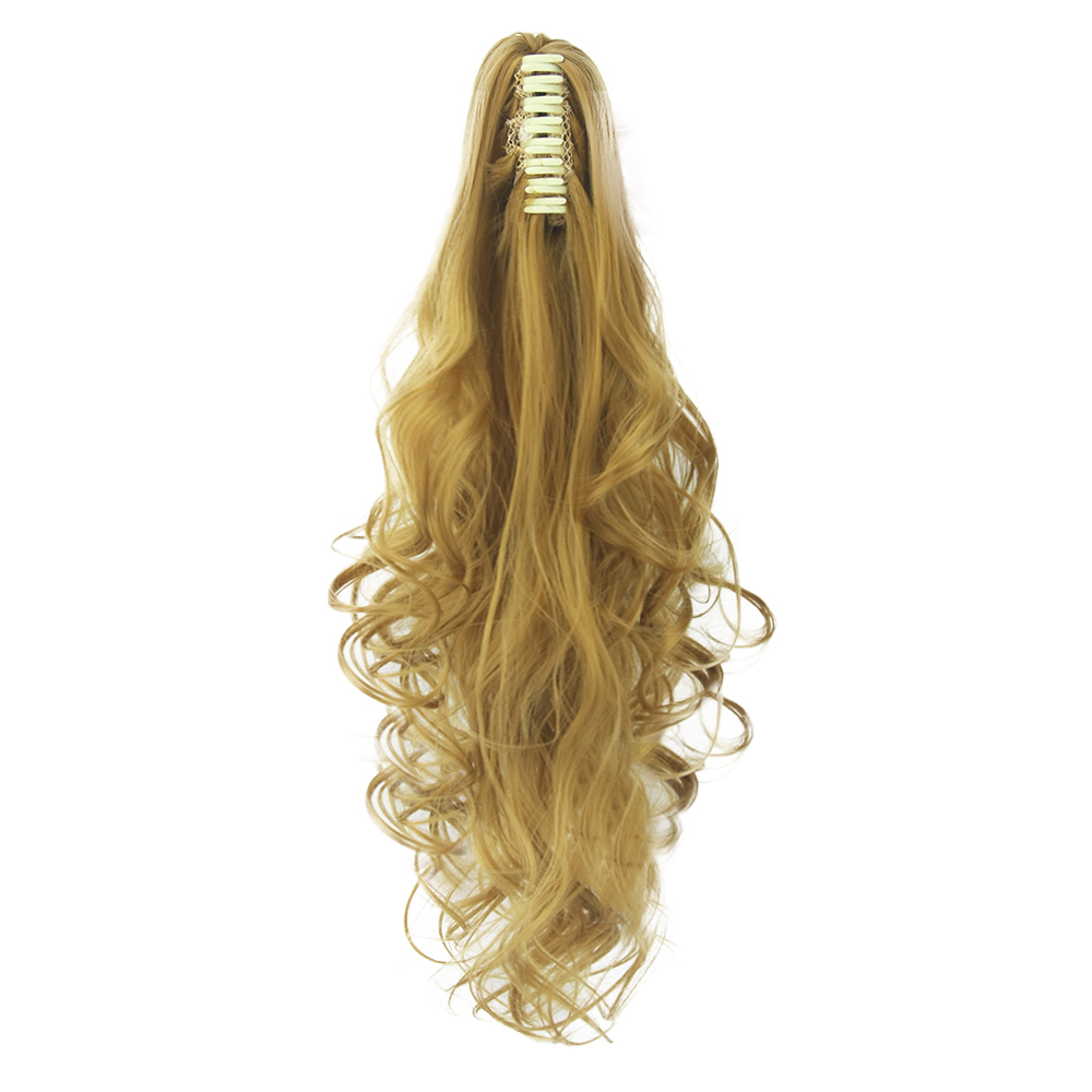 Soowee 24Inch Curly Clip In Hair Ponytail Synthetic Hair -5165